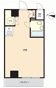 マンション(建物一部)-横浜市神奈川区鶴屋町2丁目 間取り