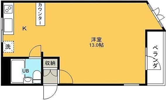 マンション(建物一部)-鳥取市吉方 間取り