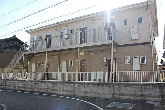 アパート-半田市乙川畑田町3丁目 暖かみのある外観木造一部鉄骨造瓦葺(2階建)