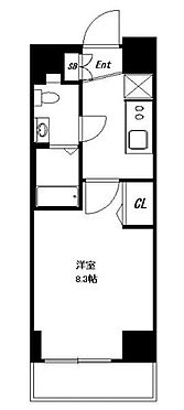 マンション(建物一部)-台東区清川2丁目 間取り