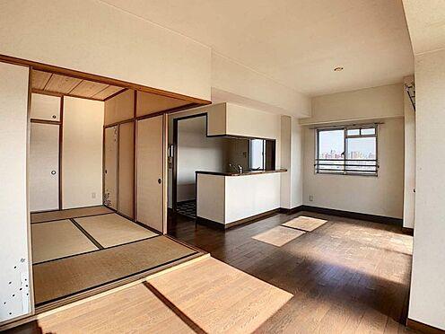 中古マンション-名古屋市守山区小幡千代田 南向きのバルコニーで日当たり良好です。