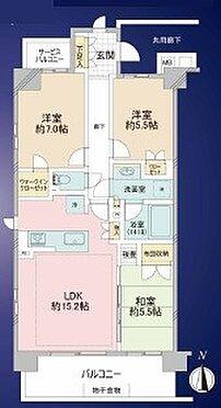 中古マンション-朝霞市栄町3丁目 間取り