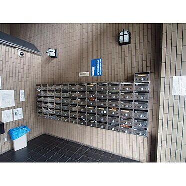 マンション(建物一部)-京都市右京区西院清水町 綺麗なメールBOX完備