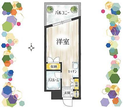マンション(建物一部)-名古屋市名東区藤森西町 生活しやすいワンルーム、単身者向け物件です。