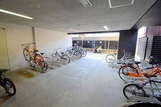 マンション(建物一部)-京都市下京区中金仏町 広々とした駐輪スペース