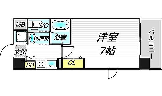 マンション(建物一部)-大阪市中央区南久宝寺町1丁目 人気の3点セパレート