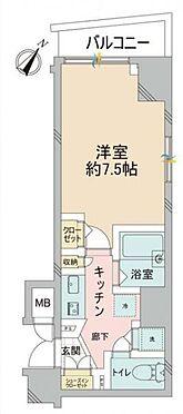 マンション(建物一部)-中央区日本橋堀留町2丁目 間取り