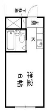 区分マンション-京都市下京区西松屋町 間取り