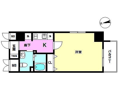 区分マンション-堺市堺区住吉橋町2丁 間取り