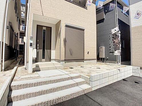 新築一戸建て-名古屋市天白区保呂町 駐車は並列で2台可能で便利です!