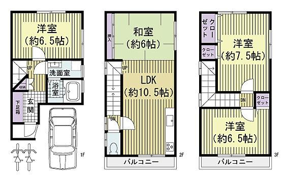 建物全部その他-堺市東区西野 間取り