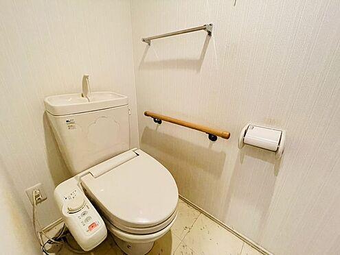 区分マンション-春日市須玖南5丁目 ウォシュレット付トイレです!手摺りもあり安心です♪