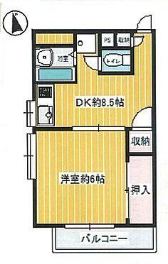 マンション(建物一部)-横浜市南区永田北2丁目 間取り