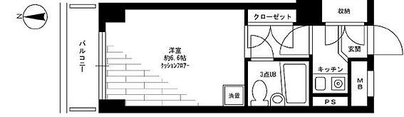 区分マンション-文京区湯島2丁目 間取り