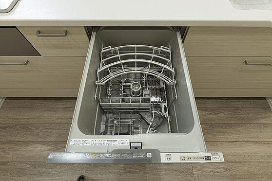 戸建賃貸-名古屋市千種区南ケ丘1丁目 食洗機標準装備です。(同仕様)