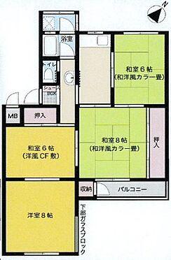 マンション(建物一部)-神戸市灘区鶴甲4丁目 和室多めの3DK