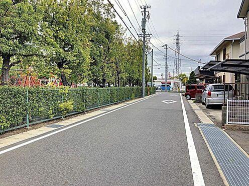 中古一戸建て-刈谷市築地町2丁目 車通りの少ない前面道路です。
