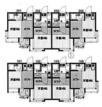 アパート-狛江市東野川4丁目 間取り