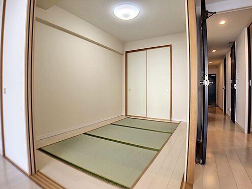 中古マンション-春日井市鳥居松町1丁目 小さなお子さまのいる方におすすめ!リビング横に和室のあるタイプの間取りです!