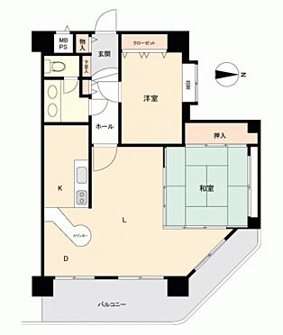 区分マンション-札幌市南区定山渓温泉西 間取り