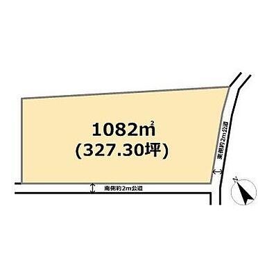 土地-東松山市大字石橋 区画図