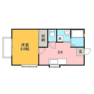 アパート-宇都宮市山本3丁目 1DKが6世帯、2DKが2世帯 合計8世帯 。