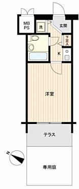 中古マンション-小金井市緑町3丁目 間取り