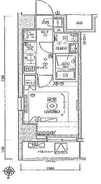 マンション(建物一部)-足立区青井5丁目 間取り