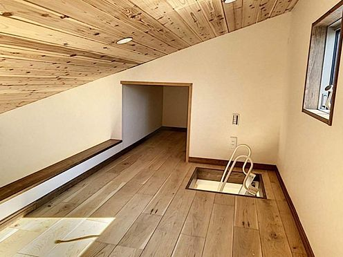 戸建賃貸-知多郡東浦町大字森岡字山之神 ロフト付きの物件!収納としても使用可能です!