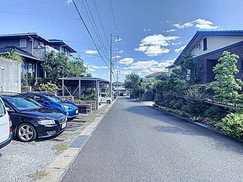 中古一戸建て-半田市のぞみが丘3丁目 余裕のある前面道路。駐車が楽々です♪