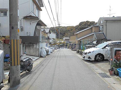 建物全部その他-城陽市寺田宮ノ谷 前面道路(接道西側)