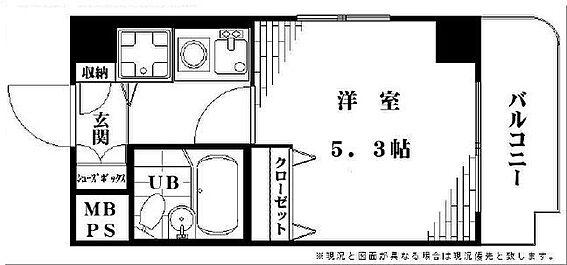 マンション(建物一部)-大田区仲池上2丁目 間取り図