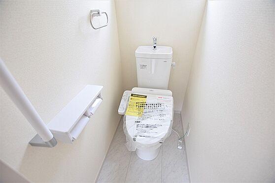 新築一戸建て-仙台市若林区沖野4丁目 トイレ