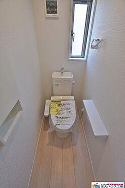 新築一戸建て-東松島市小野字裏丁 トイレ