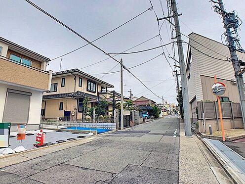 新築一戸建て-名古屋市南区戸部町3丁目 前面道路