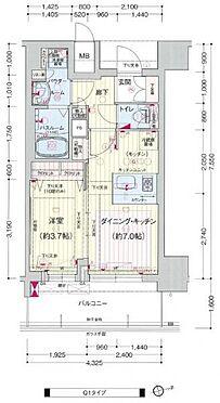 マンション(建物一部)-神戸市中央区布引町1丁目 間取り