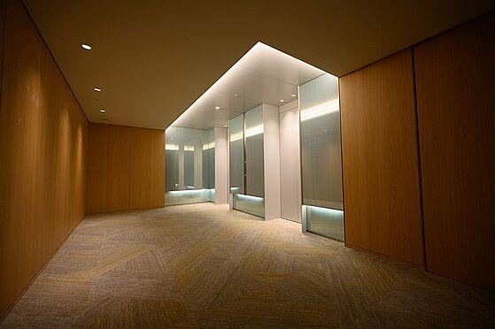 中古マンション-渋谷区神宮前2丁目 エレベーターホール入口