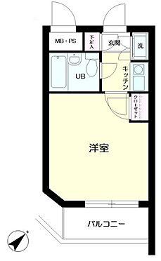 区分マンション-横浜市西区南浅間町 間取り