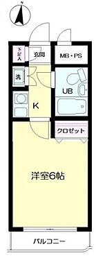 マンション(建物一部)-横浜市磯子区杉田4丁目 間取り