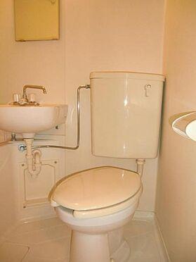 マンション(建物一部)-日野市旭が丘3丁目 トイレ