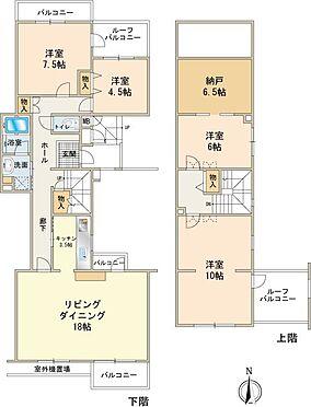 中古マンション-八王子市南大沢5丁目 約141m2広々とした4LDK+Sタイプ