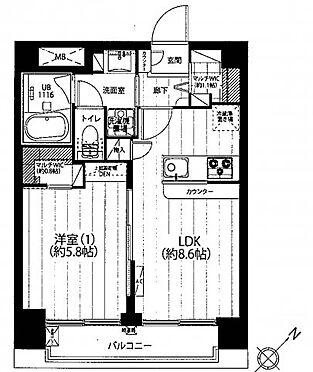 中古マンション-品川区西五反田2丁目 no-image