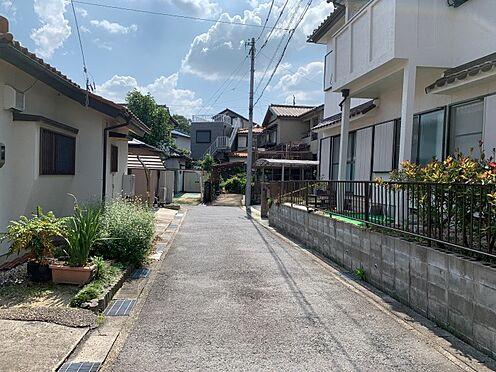 土地-豊田市西中山町神子塚 閑静な住宅街に立地しています。
