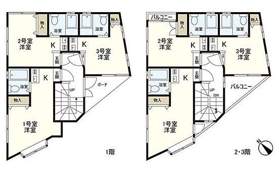 マンション(建物全部)-江戸川区西葛西1丁目 間取り