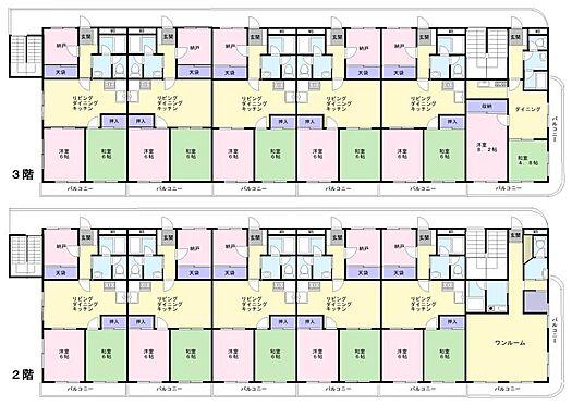 マンション(建物全部)-江戸川区南葛西3丁目 2階、3階