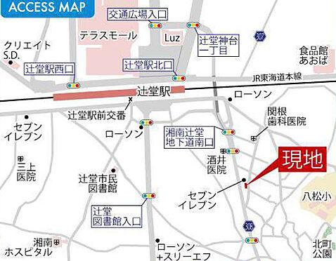 アパート-藤沢市辻堂元町1丁目 地図