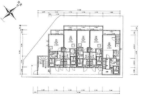 マンション(建物全部)-川崎市麻生区上麻生6丁目 1階間取り図
