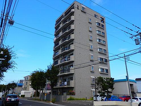 中古マンション-札幌市豊平区月寒東三条3丁目 南側から見た外観