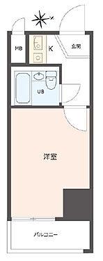 区分マンション-神戸市中央区元町通7丁目 間取り