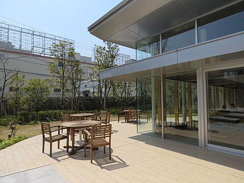 中古マンション-品川区勝島1丁目 パーティールームのお庭です。